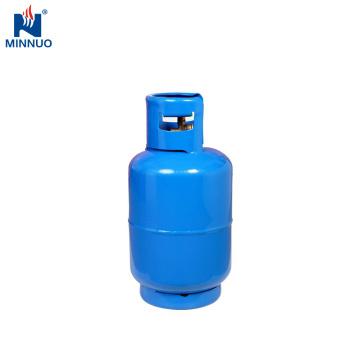 Tanque recarregável do cilindro do propano do gás do lpg de 25LBS dominica