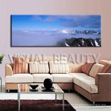 Meer der Wolken-natürliche Landschaftsentwürfe Segeltuch-Kunst-Malerei
