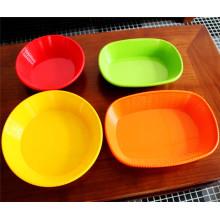Utensílios de mesa coloridos de melamina (CP-014)