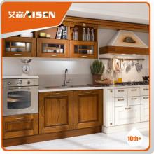 Varios gabinetes de la cocina del país de madera de driftwood de los varios modelos