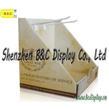 Estandarte corrugado por encargo del proveedor del oro Stander PDQ Boxwith SGS (B & C-D061)