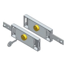 Cơ giới Roller Shutter Door Locks Kit