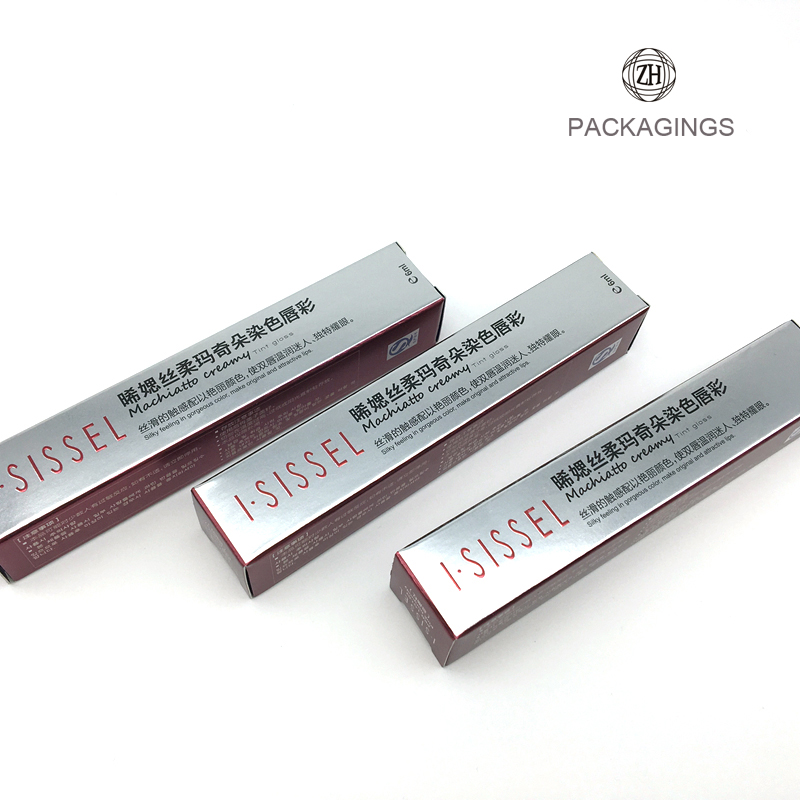 Fancy lipstick paper packaging box