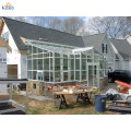 Villa Living Winter Sunrooms Triangle Tag Glass Room