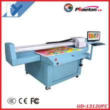 Universal Digital UV Flatbed Printer with Epson Dx5 Inkjet Printhead (1.3m*1.2m or 2.5m*1.2m for Decoration,