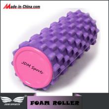 Purple EVA Yoga Sports Pilates Massage Fitness Roller en mousse