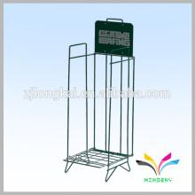 La fábrica de China suministra directamente el hierro forjado del estante del libro del alambre de calidad superior