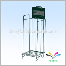 China Factory Directly Supply Top Quality Wire Book Shelf Wrought Iron