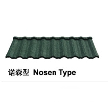 Nosen Type Stone Coated Metal Roof Tile