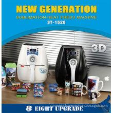 3d mini sublimation vacuum machine new products