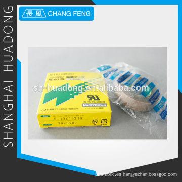 Impregnada de resina de flúor paño de fibra de vidrio cinta adhesiva