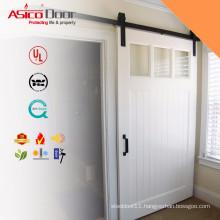 ASICO White Barn doors sliding door house architech Construction