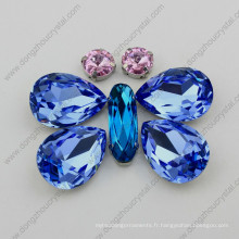 Fabricant En Gros Lumière Saphir Cristal Bijoux Pierre De Jinhua Ville