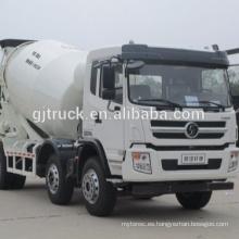 Camión mezclador de hormigón 8x4 Dayun / camión mezclador de cemento / camión mezclador de polvo / camión mezclador usado / mezclador de cemento
