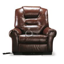Sofá de cine en casa VIP, sofá de cuero genuino