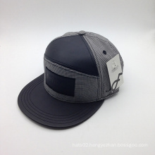 6-Panel PU Brim Cotton Wholesale Fashion Cap (ACEW134)