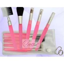 5PCS Popular Plastic Hand Makeup Brush Kit