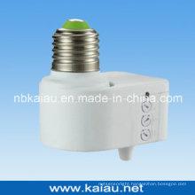 2012 New Design E27 B22 Microwave Sensor Lamp Holder