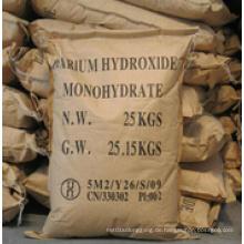 Weißer Kristall 99% Min. Bariumhydroxid für die Industrie