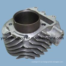 Carcaça do motor de fundição em alumínio