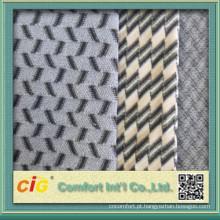 China Nova Design alta qualidade tecido barato para tampa de assento do carro