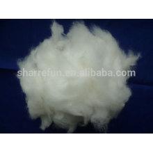 Grade A Angora Kaninchen Haar weiße Farbe 15.0mic / 32mm
