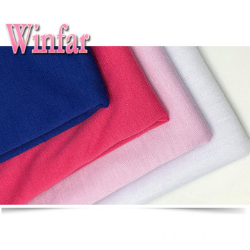 Single Jersey Spandex Polyester Stretch Stoff