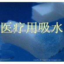 Makromolekül absorbierender Baumwollfilz für medizinische Versorgung / medizinische Wissenschaft