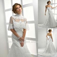 Zusammenpassende Verpackung Eine Linie Spitze-Hochzeits-Kleid 2013