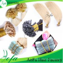 Top Quality Tip Straight Hair Brazilian Human Hair