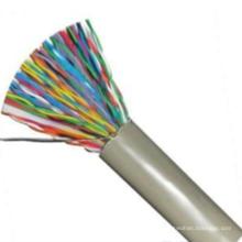 100pair copper foam skin polyolefininsulated plastic coatedaluminum tape adhibit shielding polyolefin jacket communication cable