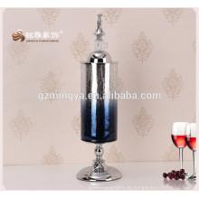 Personalisierte Glas Material benutzerdefinierte Blume Glas Vasen für Hausdekoration