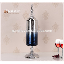 Personalized glass material custom flower glass vases for home decoration