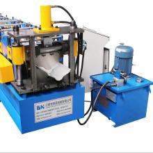 Automatically Glazed Steel ridge forming machine