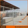 Cerca temporal galvanizada en caliente de la fábrica de China fábrica en venta