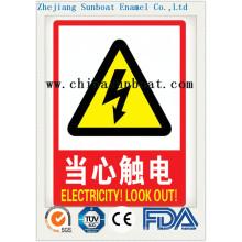 Emaille Customized Warnzeichen
