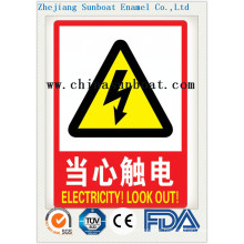 Enamel Customized Warning Signs
