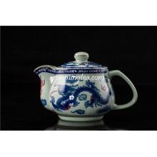 Dragón tradicional y tazón chino del té de Phenix tamaño grande