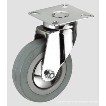 Echador de goma gris inferior de la industria del tubo de la onda de goma gris de 3inch