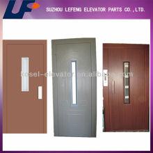 Дверь лифта, Ручная дверь, Поворотная полуавтоматическая дверь