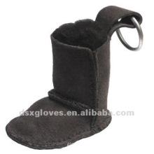 snow boots keychain
