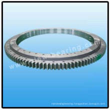 Double row ball slewing bearing turntable slewing bearing external gear