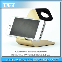 aluminum metal dock charger stand display stand holder for watches