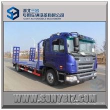 JAC 4X2 180HP Euro4 Flat Transporter for Conveying Flatbed Truck