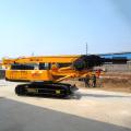 Drive pile auger turner machine