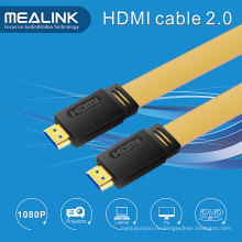 HDMI 2.0V плоский кабель поддерживает 4k@60Hz, 18gpbs