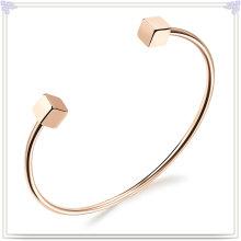 Bracelete novo do aço inoxidável da jóia da forma do projeto (BR347)