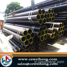 Black SCH40 Seamless Steel Pipe
