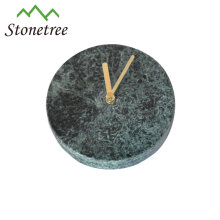 Home decorative stone marble wall clock