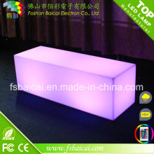 LED Outdoor Light Cube Bar Chair / Garden Furniture
